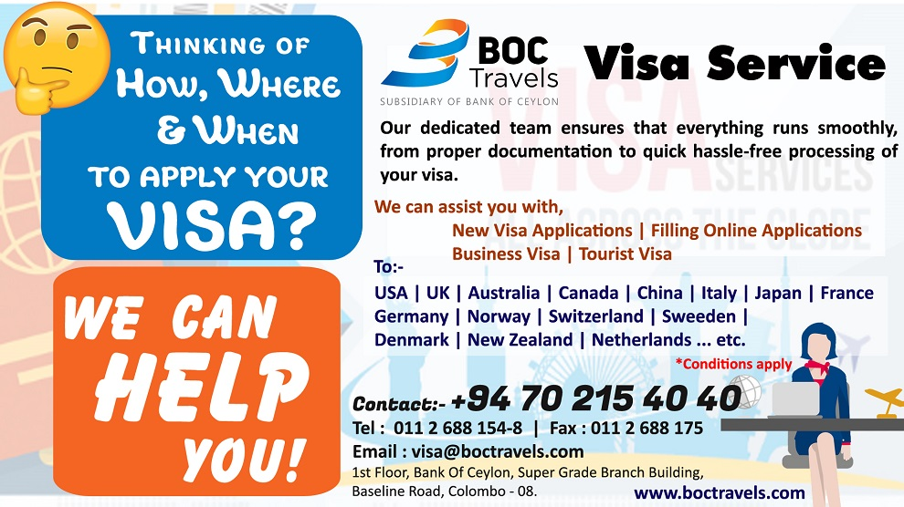 BOC Travels | Professional Travel & Tour Operator in Sri Lanka